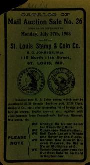 Catalog of mail auction sale no. 26. [07/27/1908]