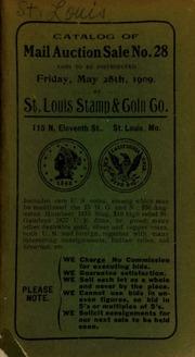Catalog of mail auction sale no. 28. [05/28/1909]