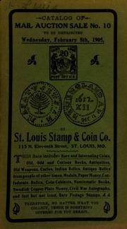 Catalog of mail auction sale no. 10. [02/08/1905]