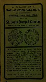 Catalog of mail auction sale no. 12. [06/29/1905]