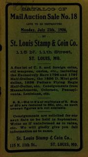 Catalog of mail auction sale no. 18. [07/23/1906]