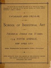 Catalogue and circular of t...