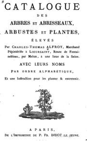 Essai de catalogue des noms arabes et berb res de quelques for Catalogue plantes et arbustes