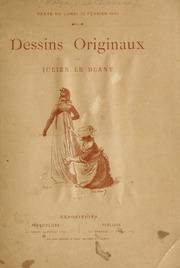 Catalogue des dessins originaux