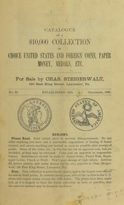 Catalogue of a $10,000 Collection ..., No. 23