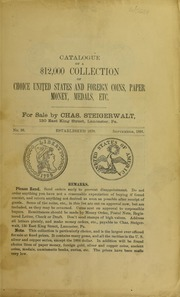 Catalogue of a $12,000 Collection ..., No. 26