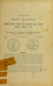 Catalogue of a $12,000 Collection ..., No. 28