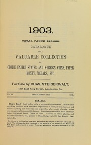 Catalogue of a $25,000 Collection, No. 63