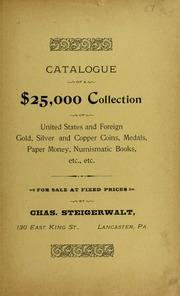 Catalogue of a $25,000 Collection, No. 57