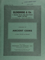 Catalogue of ancient coins, in gold, silver and bronze, [including] Greek, [such as] a Macedon Demetrius Poliorcetes tetradrachm, head of Demetrius right, rev. Posiedon standing, left foot on rock;  ... [02/12/1975]