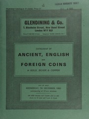 Catalogue of ancient, English and foreign coins, in gold, silver, & copper, [including] Greek, Roman, and Byzantine, [as well as] a collection of coins from Anglo-Saxon Sussex mints, [the property of J.C. Allen], ... [12/07/1983]
