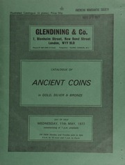 Catalogue of ancient coins, in silver and bronze, [including] a Syria, Seleucis II tetradrachm, head of Seleucis right, rev. Apollo standing left, resting elbow on tripod; a Satraps of Babylon stater,  ... [05/11/1977]
