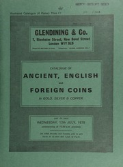Catalogue of ancient, English and foreign coins, in gold, silver, & copper, [including] a Hadrian, sestertius, laurel head, rev. Hilaritas standing between two children;  ... [07/12/1978]