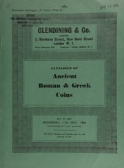 Catalogue of Ancient Roman & Greek coins, [including] a collection of Roman Imperial aurei and solidi, denarii and antoniniani, bronze sestertii, second brass, third brass et infra [and a few] Roman Republican coins;  ... [05/11/1966]