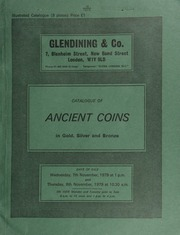 Catalogue of ancient coins, in gold, silver and bronze, [including] a King of Macedon, Philip II stater, head of Apollo, rev. chariot, symbols below; [and] a Judea, first revolt, year 1, shekel (A.D. 66); [also] a lead weight, obv. triskeles, rev. six petalled star, found in Pamphylia; ... [11/07-08/1979]