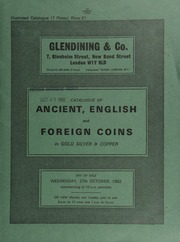 Catalogue of ancient, English and foreign coins, in gold, silver, & copper, [including] a James I second coinage rose ryal, king enthroned holding orb and sceptre, rev. square shield on Tudor rose;  ... [10/27/1982]