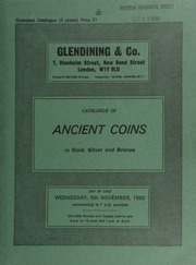 Catalogue of ancient coins, in gold, silver and bronze, [including] a Sicily, Syracuse Agothokles tetradrachm,  ... [11/05/1980]