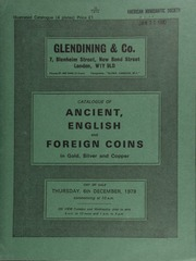 Catalogue of ancient, English and foreign coins, in gold, silver, & copper, [including] a Brazil, John V of Portugal, gold 20,000 Réis, 1725, Minas Gerais; a collection of 14 Queen Victoria, young head, halfcrowns, 1840-1878;  ... [12/06/1979]
