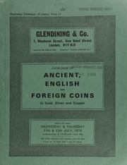 Catalogue of ancient, English and foreign coins, in gold, silver, and copper, [including] sets of Raphael miniatures, issued by Slade, Hampton & Son, Ltd., in 22 ct. gold and silver; an astronauts gold medal, 1964;  ... [07/11-12/1979]