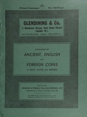 Catalogue of ancient, English and foreign coins, in gold, silver, and bronze, including Greek, [containing] a fine group of 'horsemen' didrachms of Tarentum; [as well as] the collection of Brian Moore, Esq.,  ... [11/25-26/1970]