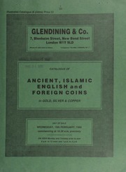 Catalogue of ancient, Islamic, English and foreign coins, in gold, silver, & copper, [including] coins of the Cappadocian kings; a further selection from the \Gibraltar\ Hoard;  ... [02/19/1986]