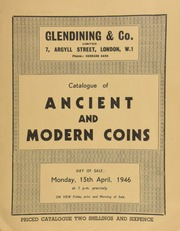 Catalogue of ancient and modern coins, including a George III Coronation medal by Natter, 1861; [and] a circular silver dish, inset with a German four taler piece of Augustus of Lüneberg, 1665; [etc] ... [04/15/1946]