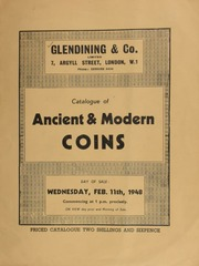 Catalogue of ancient & modern coins, [including] a gold portrait medal of Earl Lloyd George; a gold medal presented by the President of the United States of American, for gallantry in saving life at sea, Sept., 1900, to Egbert Sharey; ... [02/11/1948]