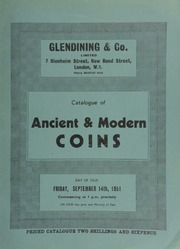 Catalogue of ancient & modern coins, [including] a William IV proof set of Maundy money, 1831, struck in gold, consisting of fourpence, threepence, twopence, and penny;  ... [9/14/1951]