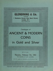 Catalogue of ancient & modern coins, in gold and silver, [including] the property of the late Mr. L. Chamard (Jersey); [as well as] a Cephaloedium (B.C. 409-396) tetradrachm, head of nymph left, with dolphins;  ... [02/05/1953]