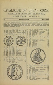 Catalogue of Cheap Coins, No. 1