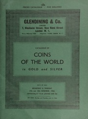 Catalogue of coins of the world, in gold & silver, [including] Ancient Roman gold and Byzantine coins, duplicates from a Portuguese collection; Oriental and Indian coins, [as well as] military and naval medals and decorations,  ... [11/17-18/1965]