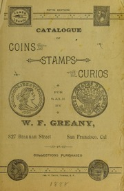 Catalogue of Coins, Stamps, Curios [Fixed Price List]