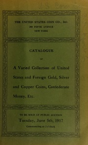 Catalogue of the collections of H. H. Butler, F. Y. Parker and others ... [06/05/1917]