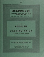 Catalogue of English and foreign coins, in gold, silver, & copper, [including] a Queen Victoria Coronation medal, 1838, by B. Pistrucchi; a small collection of Hiberno-Norse imitations of Aethelred II Long-Cross pennies;  ... [12/08/1976]