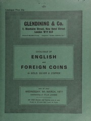 Catalogue of English and foreign coins, in gold, silver, & copper, [including] the collection formed by F. \Monty\ Banks, deceased, of Beverley, Humberside,  ... [03/09/1977]