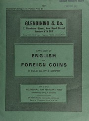 Catalogue of English and foreign coins, in gold, silver, & copper, [incluing] numismatic books from the the Westminster School Library; [as well as] a William IV half-sovereign, large size, 1836; [and] a Russia, Nicholas I platinum 6-roubles, 1838 (S.626); [etc.] ... [02/10/1982]
