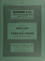 Catalogue of English and foreign coins, in gold, silver, and copper, [including] a Charles II five-guineas piece, elephant below bust, 1668; Turkey, Abdul Hamid II, De Luxe restrikes of various denominations;  ... [02/04/1976]