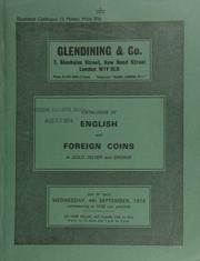 Catalogue of English and foreign coins, in gold, silver, and bronze, [including] a George II proof five guineas piece, 1731, young head, laureate left, rev. garnished shield of arms;  ... [09/04/1974]