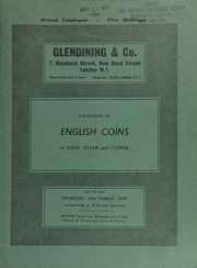 Catalogue of English coins, in gold, silver and copper, [including] coins and tokens of Coventry; [in addition] 14 lots offered by order of Mr. T[homas] H[umphrey] Paget, the well-known artist and designer of coins and medals;  ... [03/12/1970]