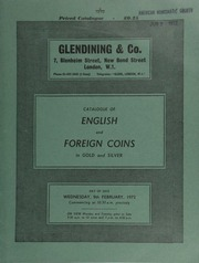Catalogue of English and foreign coins, in gold and silver, [including] an Ireland, Free State, Currency Commission, legal tender note, presented by Sir Winston Churchill to his valet, W. Field, in 1929;  ... [02/09/1972]