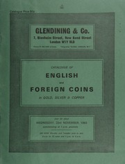 Catalogue of English and foreign coins, in gold, silver, & copper, [including] a Queen Elizabeth II, 1980 proof set of four gold coins; a Prime Ministers of Great Britain set of six gold medals, by Medallioners Ltd.; ... [11/23/1983]