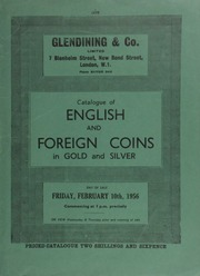 Catalogue of English and foreign coins, in gold and silver, [including] an Edward IV, first reign, half angel, Br. VII, short cross fitch�e, legends interchanged, obv., St. Michael; an Italy, Sardinia, Victor Amadeus III (1773-96) 4 doppia 1786;  ... [02/10/1956]