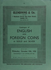 Catalogue of English and foreign coins, in gold and silver, [including] a William III five guineas piece, 1699, elephant and castle under bust, almost extremely fine and very rare;  ... [12/12/1956]