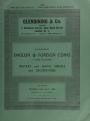 Catalogue of English & foreign coins, in gold and silver, [including] India, Ramantanka, concave, obv. seated figure under umbrella with two attendants and monkey; [in addition] a good series of copper and bronze coins;  ... [07/19/1965]