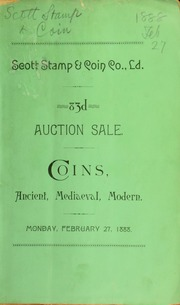 Catalogue of a fine collection of ancient and modern coins ... the collection of G.J. Bascom ... [02/27/1888]