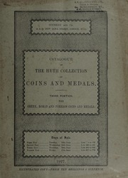 Catalogue of the Huth Collection of Coins and Medals