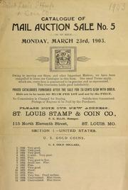 Catalogue of mail auction sale no. 5. [03/23/1903]