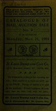 Catalogue of mail auction sale no. 9. [11/21/1904]