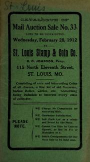 Catalogue of mail auction sale no. 33. [02/28/1912]