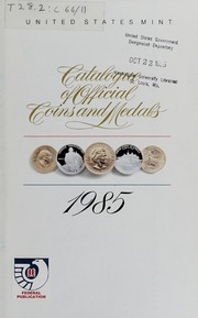 Catalogue of Official Coins and Medals